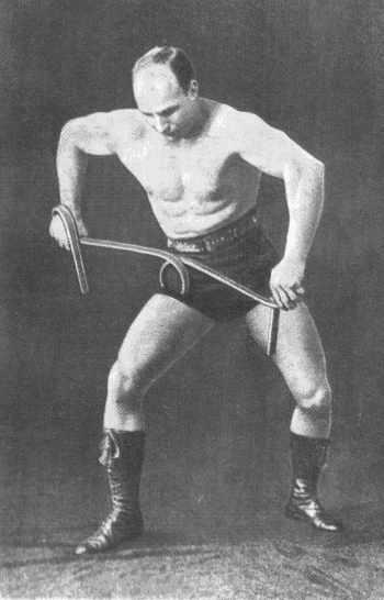 Александр Засс - Железный Самсон (Изометрические упражнения) .